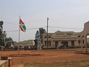 Cottage hospital - A cottage hospital in Ruyigi, Burundi.