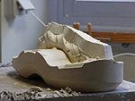 Sèvres - Plâtre - fabrication d'un moule 078.jpg