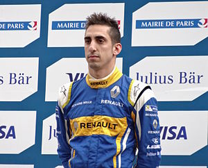 Sébastien Buemi - Buemi at the 2016 Paris ePrix