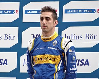 2016–17 Formula E season - Sébastien Buemi finished second in the drivers standings, 24 points behind Lucas di Grassi.