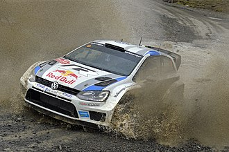 2013 World Rally Championship - Volkswagen Polo R WRC, the car entered by the Volkswagen Motorsport, who became the World Constructors' Champions in their debuting season.