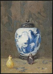 Still Life, Chinese Vase