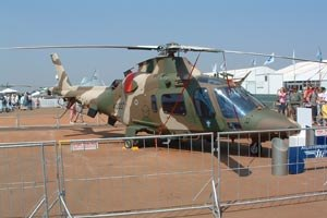 Agusta - A South African Air Force A109LUH.