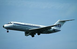 Scandinavian Airlines System Flight 130 - A similar aircraft to the hijacked Gunder Viking