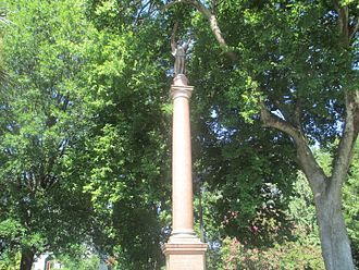 Thomas Sumter - Sumter shares a monument, erected in 1913, on the state capitol grounds in Columbia with two other Revolutionary War generals, Francis Marion and Andrew Pickens