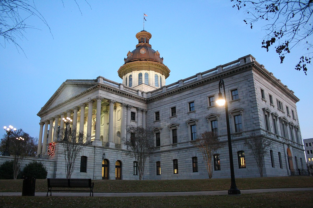 South carolina state house wikipedia for Builders in sc