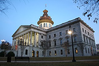 South Carolina State House United States historic place