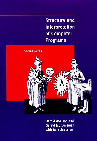 Structure and Interpretation of Computer Programs - Cover of the second edition