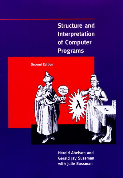 Picture of a book: Structure And Interpretation Of Computer Programs