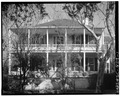 SOUTH (FRONT) ELEVATION. Portico not original. - W. J. Jenkins House, 901 Craven Street, Beaufort, Beaufort County, SC HABS SC,7-BEAUF,14-1.tif