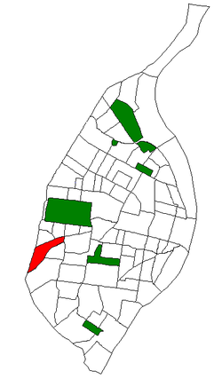 Location of Ellendale within St. Louis