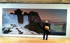 Stephen Hannock - Image: SWH Niagara Ptg