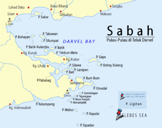 Ligitan island