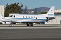 Sabreliner 65 at SMO (13234079794).jpg