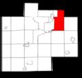 Saginaw County Michigan townships Buena Vista highlighted.png