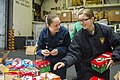 Sailors assemble gifts for Operation Christmas Child.jpg