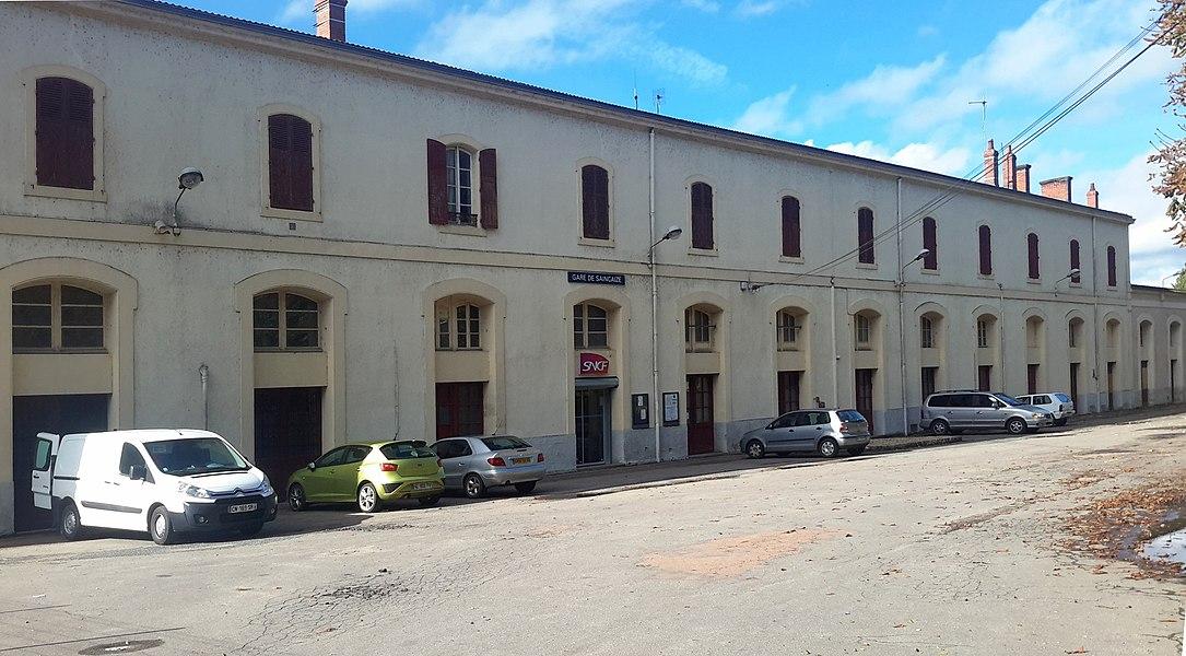 Station Saincaize, Saincaize-Meauce, Nièvre, France.