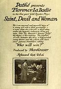 Saint, Devil and Woman