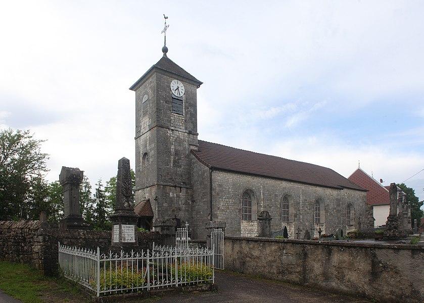 Église de Saint-Gorgon (Doubs).