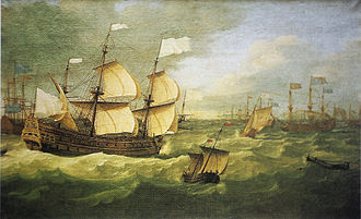 Battle of Solebay - French flagship Saint-Philippe at the Battle of Solebay