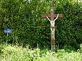Saint-Victor-d'Épine (Eure, Fr) croix de chemin.JPG
