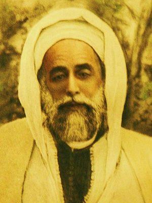 Ahmad al-Alawi - An old photograph of Saint Ahmad al-Alawi (c. 1920)