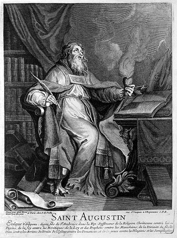 augustine of hippo and right thing Augustine of hippo man's attaining right relationship with god - as aristotle's ethics is focused on man exercising his distinctively rational purpose.