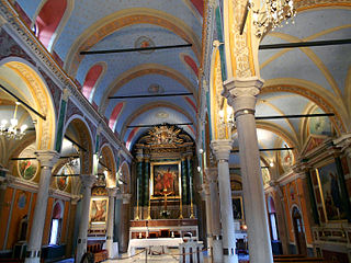 The Catholic St. George's Cathedral, Ano Syros