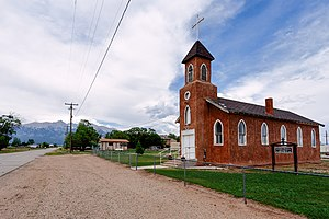 Saint James Catholic Church - Blanca, Colorado, 2016.jpg