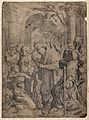 Saint Jerome. Etching by F. Paria after Agostino Carracci. Wellcome V0032323.jpg