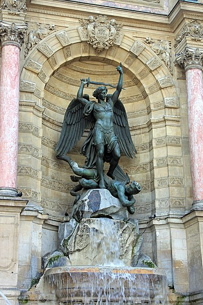 Fontaine Saint Michel à Paris
