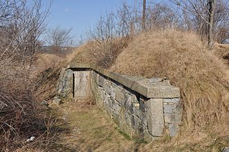 Fort Pickering - One of three 19th-century ammunition bunkers