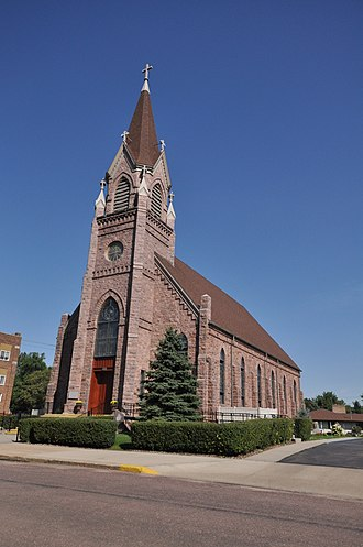 National Register of Historic Places listings in McCook County, South Dakota - Image: Salem SD St Marys Catholic Church