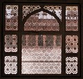 Indian pierced stone screens