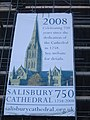 Salisbury Cathedral 750 years since dedication canvas - geograph.org.uk - 1423538.jpg