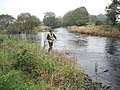 Salmon fishing at the Junction Pool of the Rivers Bladnoch and Tarf - geograph.org.uk - 292972.jpg