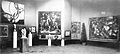 Salon d'Automne 1912, Paris, works exhibited by Kupka, Modigliani, Csaky, Picabia, Metzinger, Le Fauconnier.jpg