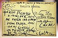 Salvador dalì, cartolina postale indirizzata a picasso, 1955 (coll. priv.).jpg