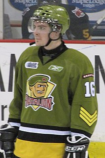 Sam Carrick Canadian ice hockey player