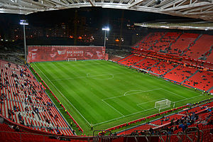 San Mamés Stadium (2013) - partially completed, December 2013