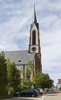 Sandhausen Evangelische Christuskirche 20130602