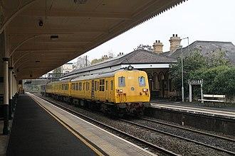 NIR Class 80 - 8069 at Lisburn (2015)