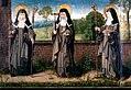 Sankta Klara, Hortolana och Agnes av Assisi.jpg