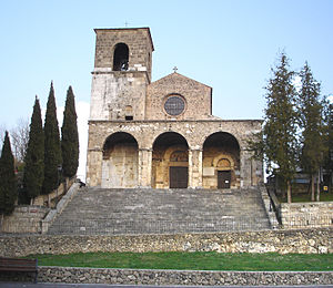 Aquino, Italy - Church of Santa Maria della Libera.