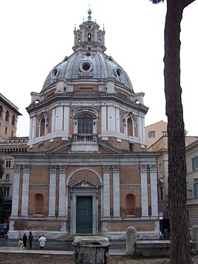 Image illustrative de l'article Église Santa Maria di Loreto de Rome