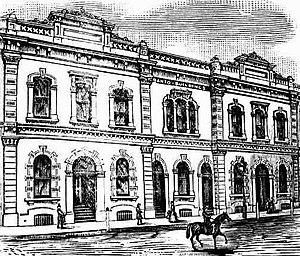 Philip Santo - Santo's Buildings, Waymouth Street, Adelaide