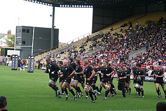 Saracens F.C. - The Saracens at a home match
