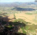 Sarajevo Ilidza - Otes with river Bosna IMG 1431 and Novi Grad in background.jpg