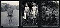 Sarawak; a Sea Dayak tribeswoman, two Kayan youths and three Wellcome V0037459.jpg