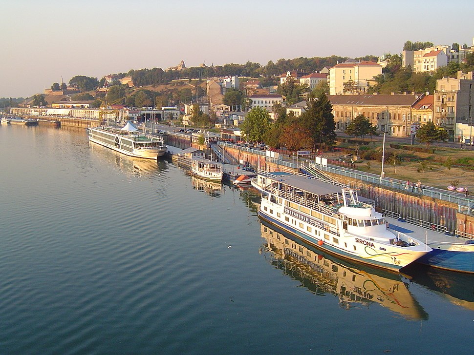 Sava port Belgrade